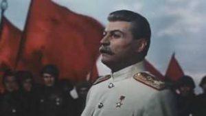 映画に出てくる同志スターリンのそっくりさん